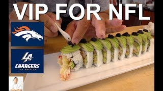 Download Alaskan King Crab Tempura Sushi Roll | How To Feed 2 NFL Players and WIN Video