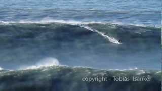 Download Big Wave Surfing Nazare Portugal 28.01.2013 - Trailer Video