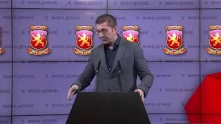 Download Прес конференција на Христијан Мицкоски - Претседател на ВМРО - ДПМНЕ 01 12 2019 Video