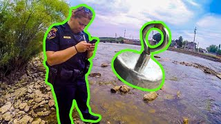 Download Magnet Fishing GONE WRONG *Police Involved* Video