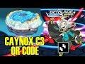 Download DEEP CAYNOX C3 FREE QR CODES! BEYBLADE BURST EVOLUTION APP! Video