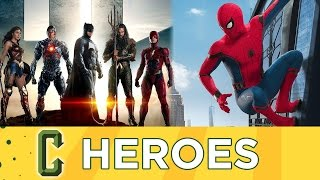 Download Justice League and Spider-man Full Trailers Have Arrived! - Collider Heroes Video