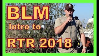 Download Orientation at RTR (January 2018) and Introduction of BLM Video