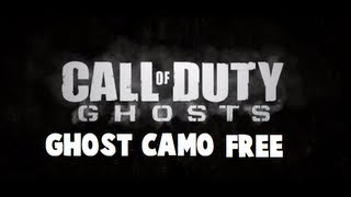 Download Black Ops 2 - Ghost Camo For Free! (Easy Tutorial) Video