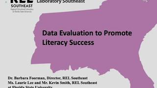 Download Data Evaluation to Promote Literacy Success Video