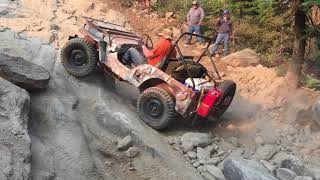 Download Vintage Willys Jeeps Rubicon Trail 2018 (Day 2 Part 1) Video
