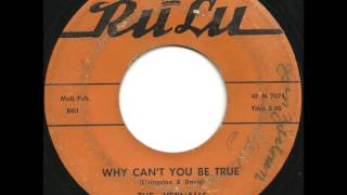 Download Vernalls - Why Can't You Be True - Killer, Rare Phill Uptempo Doo Wop Video