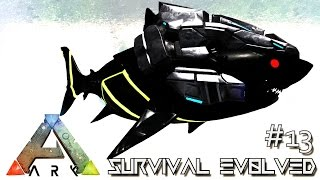 Download ARK: SURVIVAL EVOLVED - BIONIC MEGALODON & TIGER SHARK !!! E13 (MODDED ARK MYSTIC ACADEMY) Video