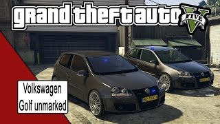 Download GTA V Volkswagen Golf mk5 unmarked release Video