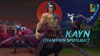 Download Kayn Champion Spotlight | Gameplay - League of Legends Video