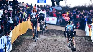 Download Elite Men's Race Highlights | 2015-16 Cyclo-cross World Cup - Koksijde, Belgium Video