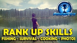 Download Final Fantasy XV - How to Max Out All Skills Quickly (Fishing, Survival, Photography, Cooking) Video