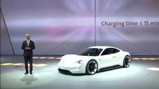 Download Porsche new 911 & Mission E Presentation at the 2015 Frankfurt Motor Show Video