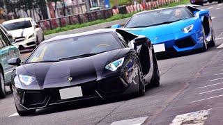 Download 【東京】スーパーカー加速サウンド/Supercars sound in Japan. Aventador 488 575 AMGGT more Video
