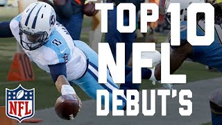 Download Top 10 Debut Performances | NFL Highlights Video