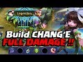 Download Build CHANG'E FULL DAMAGE !! Tips Gear & Gameplay | Mobile Legends Video