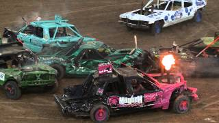 Download Utah County Fair Demolition Derby 2015 Video