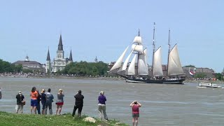 Download Historic Tall Ships Arrive in New Orleans Video