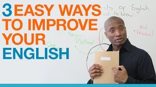 Download Learn English: 3 easy ways to get better at speaking English Video