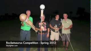 Download Rocketsaurus - FPAG April 2013 fireworks rocket contest Video