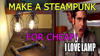 Download Make a steampunk industrial lamp super cheap! Video