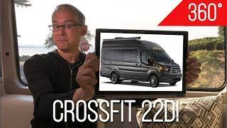 Download 360° Video Tour | Coachmen CrossFit 22D | A 4-Season Class B Camper Van Built on the Ford Transit Video