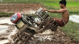 Download รถแทรกเตอร์ ไถดิน Máy kéo Tractor Kubota Trachang Thailand Video