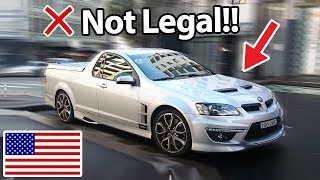 Download 6 Cars Banned In America!! :( Video