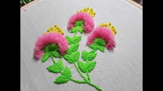 Download FLOWER EMBROIDERY Latest Flower Embroidery Video