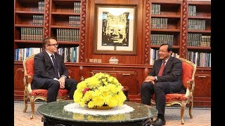 Download H.E. Mr. Ben King paid a farewell courtesy call on H.E. Senior Minister PRAK Sokhonn Video
