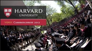 Download Harvard Commencement 2012 Video