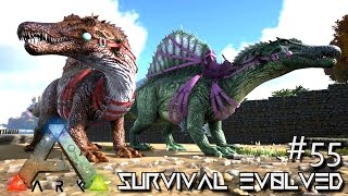 Download ARK: Survival Evolved - TAMING SPINOSAURUS !!! [Ep 55] (Server Gameplay) Video