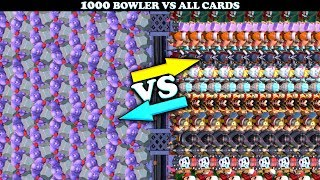 Download Bowler Vs All Cards in Clash Royale | Bowler 1 on 1 Gameplay Video