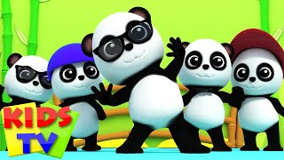 Download Bao Panda | Five Little Pandas | 3D Nursery Rhymes From Kids Tv | Baby Bao Panda Video