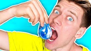 Download DIY Edible Water Bottle YOU CAN EAT!!!!! *NO PLASTIC* Learn How To Make The Best DIY Liquid Food Video