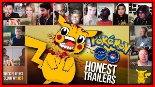 Download POKEMON GO (Honest Game Trailers) Reactions Mashup Video