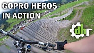Download GoPro Hero5 Black: Mountain Bike Park Leogang. Video Stabilization, Wind Noise Video