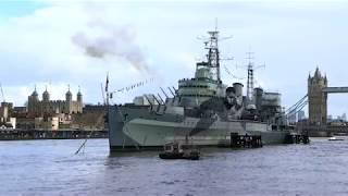 Download Veterans celebrate HMS Belfast's 80th anniversary Video