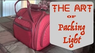 Download The Art of Packing Light~10 Days in an ″Under The Seat Suitcase″ Video