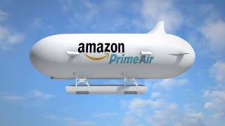 Download Amazon airship to launch its delivery drones; Amazon Go grocery store - Compilation Video