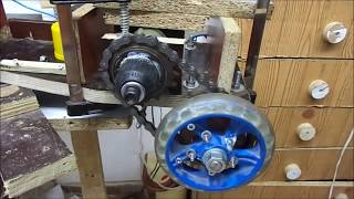 Download Drill motor hack and gear for e scooter or e bike Video
