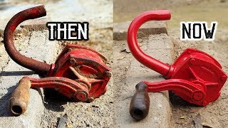 Download ROTARY OIL PUMP RESTORATION [ WITHOUT USING POWER TOOLS ] Video