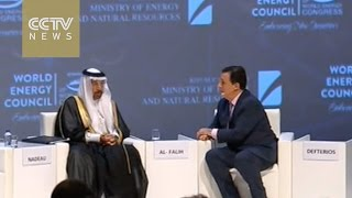 Download Saudi says oil price of $60 per barrel ″not unthinkable″ by year-end Video