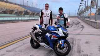 Download 2012 Suzuki GSX-R1000 Motorcycle Review - Making the Gixxer thou better than ever Video