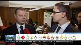 """Download Seimo rinkimų 2016 naktis. Po pirmųjų rezultatų S. Skvernelis: """"Miestuose irgi pasirodysime gerai"""" Video"""