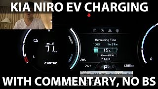 Download Kia Niro EV charging on 200 kW fast charger Video