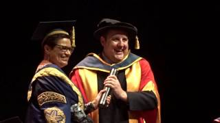 Download Peter Kay. Salford University. 19 July 2016. Honorary Doctorate. Video