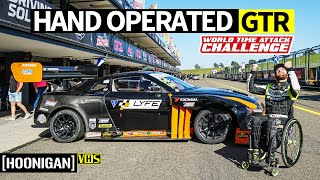 Download Racing With Hand Controls Only? 1000+ Horsepower Nissan GTR Gets Driven by Chairslayer! Video