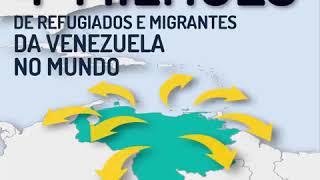 Download Confira os números de refugiados e migrantes da #Venezuela na região Video