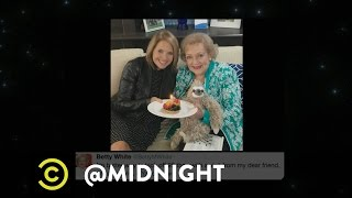 Download Happy Birthday, Betty White - @midnight with Chris Hardwick Video